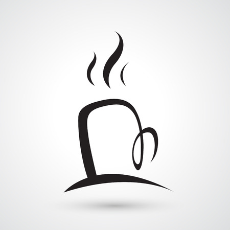 blends: Illustration of cup of coffee icon