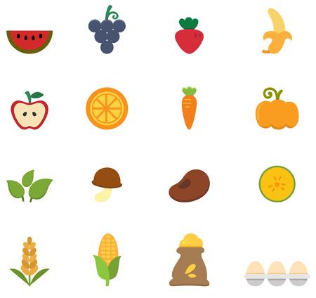 frozen drink: illustration of organic natural food icon vector Illustration