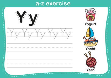 barco caricatura: Ejercicio del alfabeto az con ilustraci�n vocabulario historieta, vector