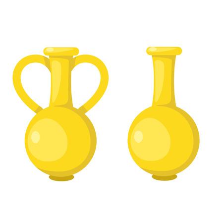 moulding: illustration of isolated flower vase vector