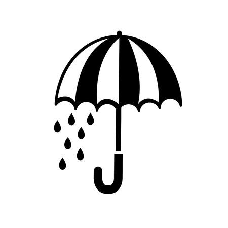 beach closed: illustration of umbrella icon