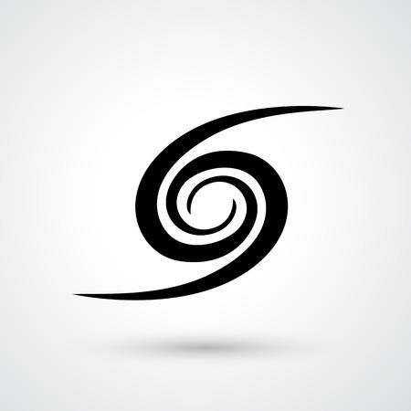 Illustration of galaxy icon vector Illustration