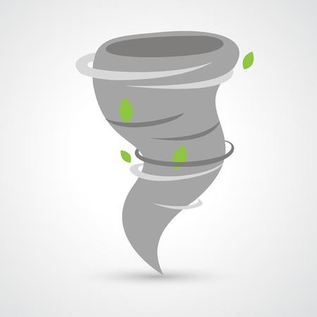 hurricane disaster: Tornado icon vector