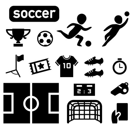 head shot: isolated soccer football player icon illustration vector