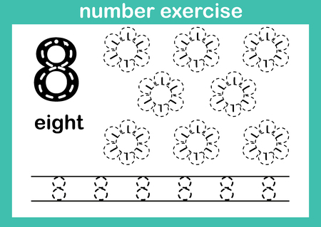 Numéro 8 dans la feuille d'exercice.