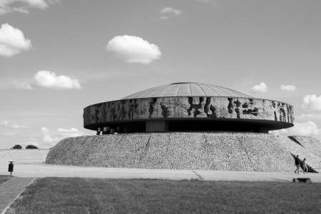mausoleum at Majdanek concentration camp Editorial