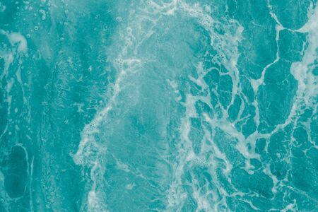Turquoise olive green sea water, abstract  nature summer background Archivio Fotografico