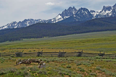 The magnificent Sawtooth Mountains