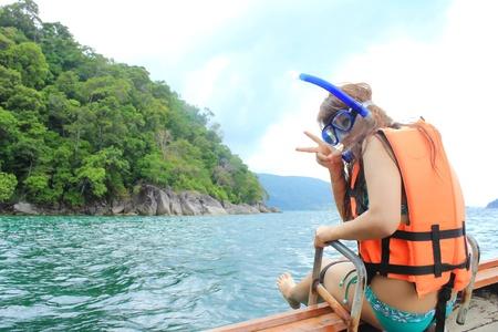 skin diving: Activity in ocean