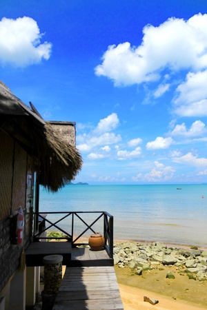 resort sea view in Pattaya Stock Photo - 10622456