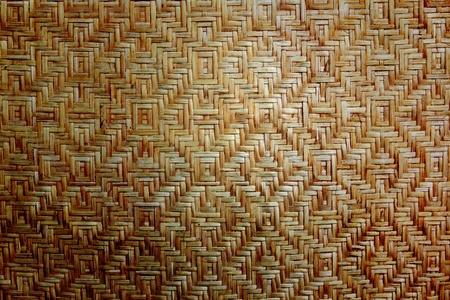 wicker work: bamboo basketry handmade natural asian background
