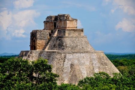 魔術師 - ウシュマル、メキシコのピラミッド