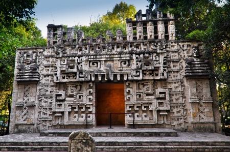 Replica of Temple of Hochoob - Mexico City, Mexico Editorial