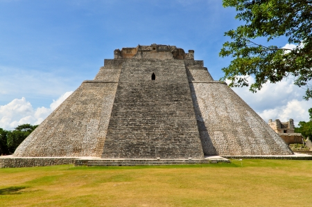 anthropological: Pyramid of the Magician - Uxmal, Yucatan, Mexico