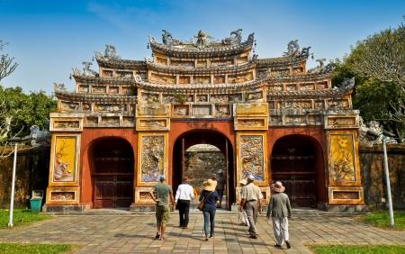 hue: Hien Lam Pavilion Gate, The Citadel - Hue, Vietnam