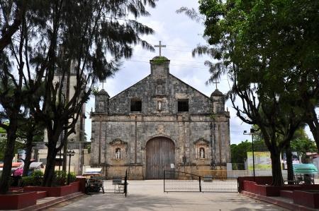 Old Spanish-Built Church (Sts. Peter & Paul) - Santa Fe, Cebu, Philippines Imagens