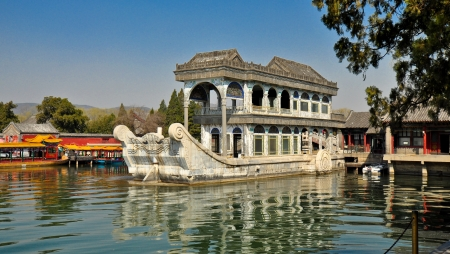 Marble Boat - Summer Palace, Beijing