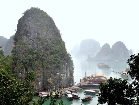 A Misty Day In Halong Bay - Vietnam