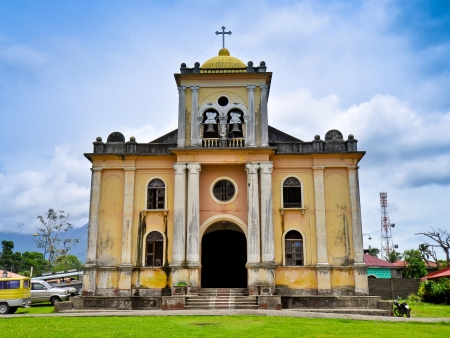 spaniards: Old Church (St. Clare of Assisi) - Tigaon, Camarines Sur, Philippines