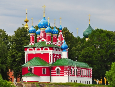 Church of St  Demetrius on the Spilled Blood - Uglich, Russia
