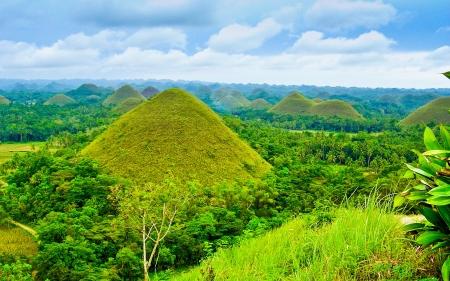 bohol: Chocolate Hills - Bohol, Philippines