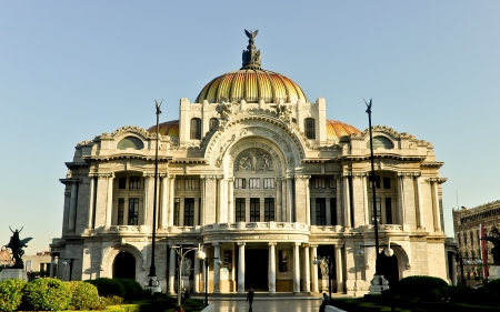Palace of Fine Arts - Mexico City, Mexico