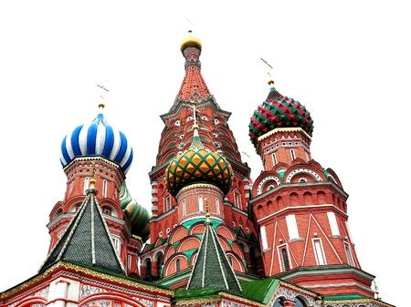 red square moscow: Catedral de San Basilio - La Plaza Roja, Mosc� Foto de archivo