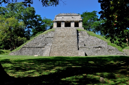 anthropological: Templo del Conde - Palenque, Mexico