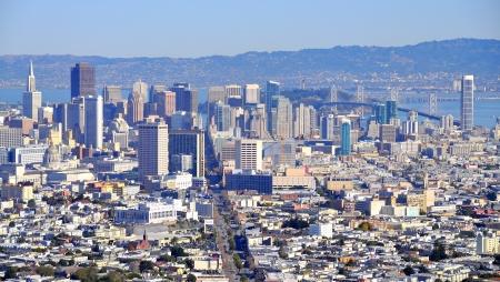 カリフォルニア州 San Francisco ダウンタウン全景
