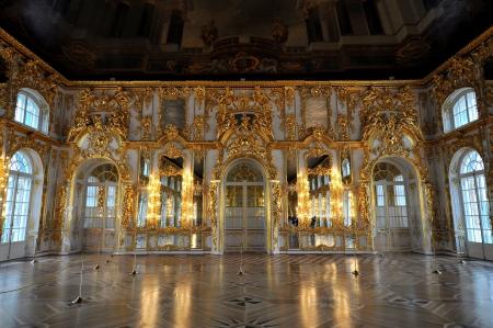 pushkin: Catherine Palace - Pushkin, Russia