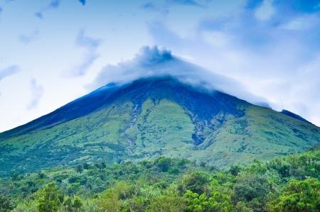 Mayon Volcano - Albay, Philippines Stock Photo