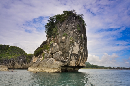 Limestone Rock Outcropping - Caramoan, Camarines Sur, Philippines