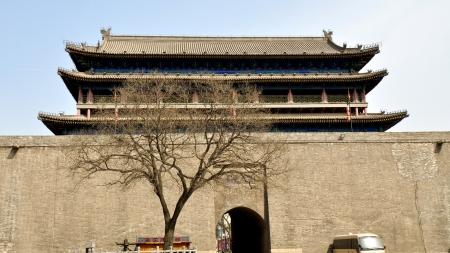 main gate: Xian Walled City South Gate Main Tower - Xian, China