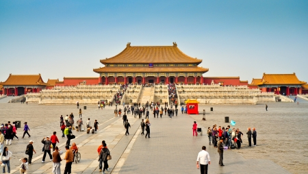 The Imperial Palace, Forbidden City - Beijing Stock Photo - 15023060