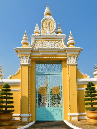 Gate to the Royal Palace - Phnom Penh, Cambodia