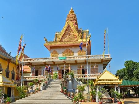 Ounalom Pagoda - Phnom Penh, Cambodja