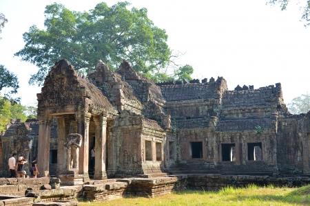 siem reap: Entrance to Preah Kanh Temple - Angkor, Cambodia
