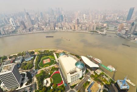 Smoggy Shanghai - China