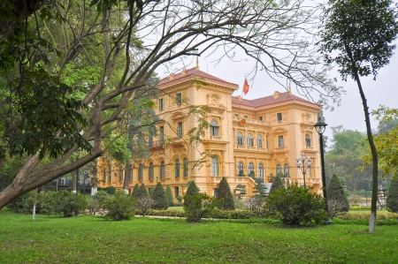 Historic French Governor s Colonial Mansion - Hanoi, Vietnam