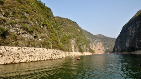Daning River, Dragon Gate Gorge - Wushan, Chongqing, China Stock Photo - 20895891