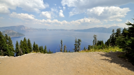 crater lake: Crater Lake, Mount Mazama - Klamath County, Oregon