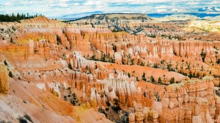 weathering: Bryce Canyon - Utah Stock Photo
