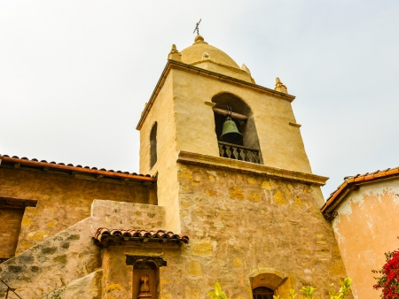 Bell Tower, Carmel Mission Church - Carmel, California