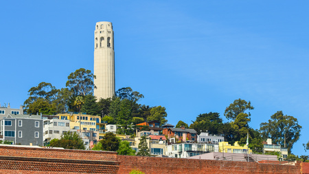 coit tower: Coit Tower - San Francisco, CA