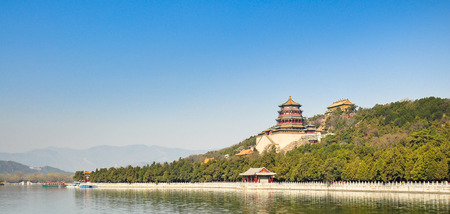summer palace: Longevity Hill, Summer Palace - Beijing, China Stock Photo