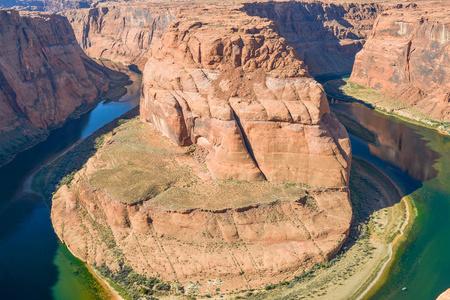 Colorado River Horseshoe Bend - Page, Arizona Stok Fotoğraf
