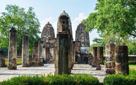 sukhothai: Wat Si Sawai   Sukhothai Thailand