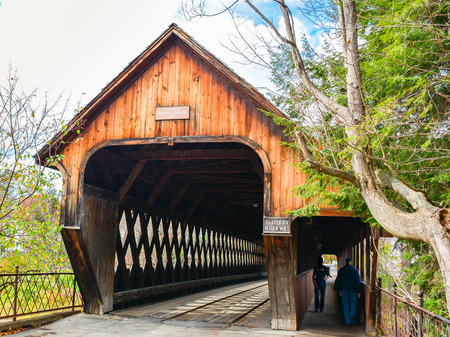 span: Middle Bridge Woodstock Vermont