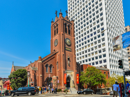 mary's: Old Saint Marys Cathedral, San Francisco, California