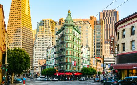 san: Columbus Tower, North Beach, San Francisco, California